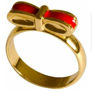 Girls Flat Bow Ring